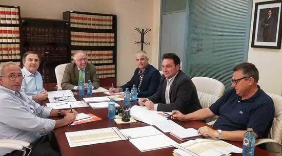 Francisco Perez Alonso reunion de coordinacion Emergencias