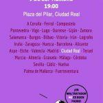 Comunicado: Concentración en apoyo a Juana Rivas convocada por Feminismos Ciudad Real