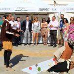 """La Asociación del Campo de Calatrava colabora en la organización de la Feria """"Sabores del Quijote"""", inaugurada hoy en Bolaños"""