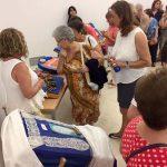 Puertollano:Arranca el Encuentro de Encajeras con una clase práctica de bolillos