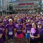 Unos 600 corredores tiñen de morado por la igualdad las calles de Ciudad Real en la 5ª Carrera de la Mujer