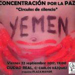 Comunicado: Pacifistas Ciudad Real convoca una concentración por la paz en Yemen