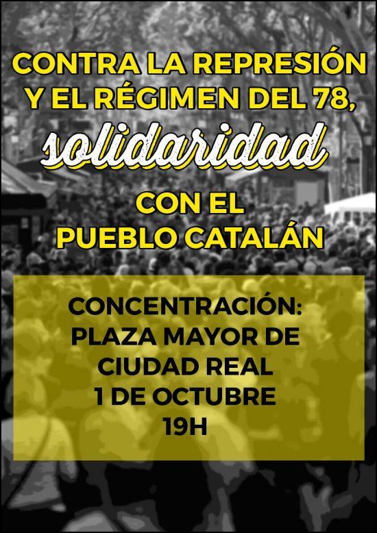 concentracion pueblo catalan