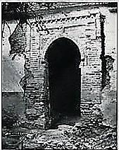 arco mudéjar descubierto en 'El Perchel'