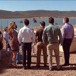 El trasvase da «tranquilidad» a los municipios que abastece el Gasset ante la «compleja» situación provocada por la sequía