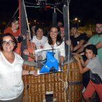 La pajarita azul del reciclaje llega a Ciudad Real en globo