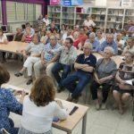 La Plataforma en Defensa del Torreón presenta sus reivindicaciones ante más de medio centenar de vecinos de la zona