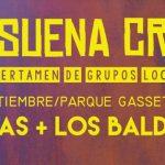 Ratas y Los Baldwin ofrecerán su concierto de Suena CR este viernes en el Parque de Gasset