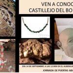 Jornada de puertas abiertas en Castillejo del Bonete (BIC), el 14 de septiembre en Terrinches