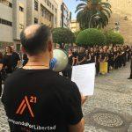 Ciudad Real: Una manifestación silenciosa contra la esclavitud