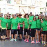 Más de 130 personas dieron vida a la ruta senderista solidaria que el domingo reivindicó en Almodóvar la lucha contra el cáncer de mama