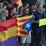 Concentración en solidaridad con el pueblo catalán - 1