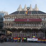 Concentración en solidaridad con el pueblo catalán - 12