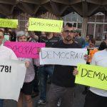 Concentración en solidaridad con el pueblo catalán - 2