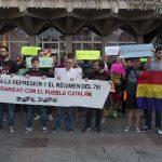 Concentración en solidaridad con el pueblo catalán - 6