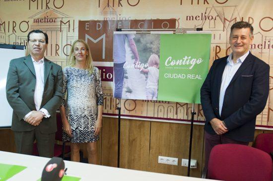 Javier Molinero, Yolanda Santos y José Enrique Aguar Vila