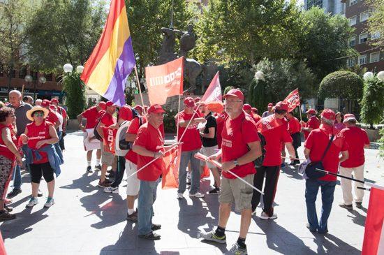 Marcha por las pensiones CCOO y UGT 1