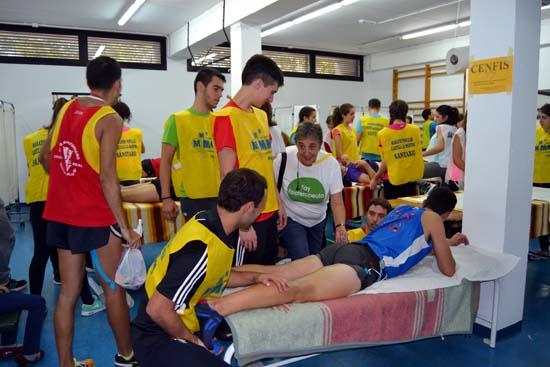 Quixote voluntarios fisioterapeutas