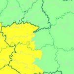 Aviso amarillo en la comarca de Puertollano por posibilidad de fuertes lluvias