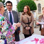 Caballero destaca la importancia de invertir en investigación, tratamiento y detección precoz del cáncer de mama