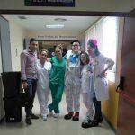 La vacuna de Clownrisas llega al Hospital Santa Bárbara de Puertollano