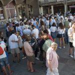Ciudad Real: Una concentración blanca y sin banderas para reclamar diálogo y convivencia