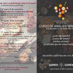 Curso de análisis sensorial de la Escuela de Enología en Carmen Carmen