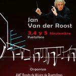 La AMC Banda de Música de Puertollano organiza un curso de composición de la mano del prestigioso maestro Jan Van der Roost