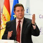 """García-Page: """"Castilla-La Mancha está con España, con la libertad y, por supuesto, con la Constitución"""""""