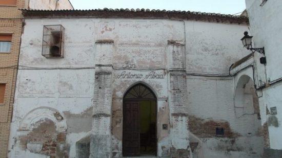 Fachada de la Ermita de San Antón, antigua Sinagoga de Ixar