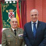 Globalcaja, en la toma de posesión del nuevo subdelegado de Defensa de Ciudad Real