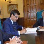Globalcaja firma con el Ayuntamiento de Talavera de la Reina