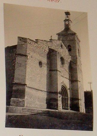 Parroquia de San Pedro (Fuente: Catálogo Monumental de Portuondo, 1917)