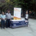 Puertollano: El Partido Ibérico reclama en la calle las autovías Toledo-Córdoba y Puertollano-Mérida