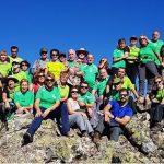 Puertollano: El Club Pozo Norte coronó el pico más alto de Sierra Madrona en una ruta senderista