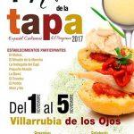 Villarrubia de los Ojos celebra del 1 al 5 de noviembre su 1ª Ruta de la Tapa, este año especial Centenario de El Progreso