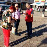 Cruz Roja Valdepeñas recauda 2.500 euros en la celebración del 'Día de la Banderita'