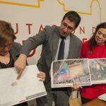 Ciudad Real: Acuerdo institucional para ceder suelo e infraestructura del Pabellón ferial y dos parcelas anexas a la Diputación