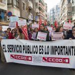 Ciudad Real: Protestan en contra de que las empresas privadas <i>cubran</i> las vacantes del servicio de limpieza de los institutos