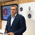 Ciudad Real: Rodríguez critica que, finalizando el año, solo se haya ejecutado un 15% del total de las inversiones posibles