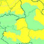 Puertollano:Aviso amarillo en la madrugada del viernes con una mínima de cuatro grados bajo cero