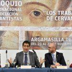 Caballero anima a conocer y a disfrutar de Argamasilla de Alba como uno de los territorios donde se desarrolla la inmortal obra de Cervantes