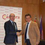 La Cámara de Comercio y el Ayuntamiento de Daimiel firman un convenio para la promoción del emprendimiento y la creación de empresas