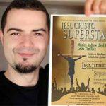 El puertollanense César Muela es uno de los protagonistas del musical Jesucristo Superstar en Madrid