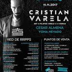 El DJ Cristian Varela repasa sus 25 años de carrera en la sala Kubik de Almodóvar del Campo