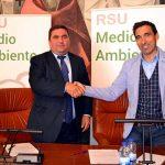 El Consorcio de Residuos Sólidos de Ciudad Real firma con el Ayuntamiento de Almagro convenio para crear una Ecovía
