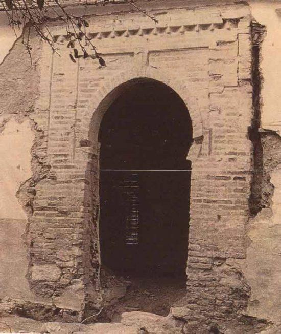 Restos mudéjares descubiertos en 1991 en una casa de la calle de la Estrella
