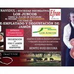 Navidul y la Sociedad Recreativa Los Juncos organizarán un curso de corte, emplatado y degustación de jamón el 24 de noviembre