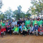 Puertollano: El Club Norte recorrió la sierra de Ventillas en una ruta por el parque del Valle de Alcudia