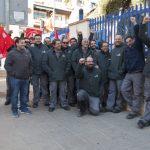 Los instaladores veteranos de Cobra continuarán con las movilizaciones hasta finales de enero